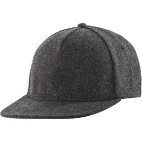 Black Diamond Wool Trucker Hoed, smoke